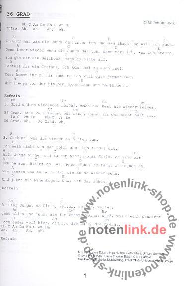 - Das Ding Band 4 : Kultliederbuch