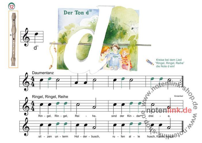 Schuh, Karin - Der Blockflötenspatz Band 1 :