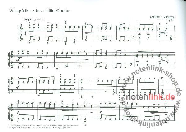 Majkapar, Samuel - Biriulki op.28 : für Klavier