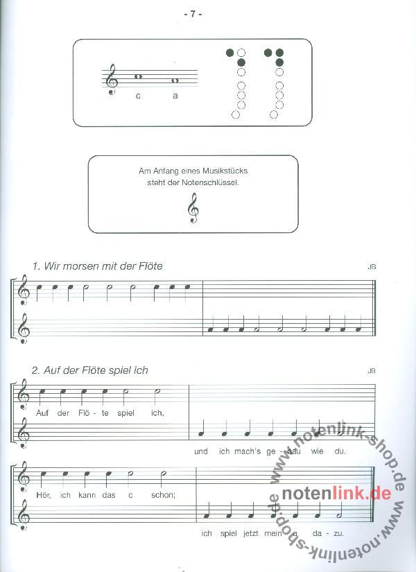 Bornmann, Johannes - Anfang auf der Sopranblockflöte Band 1