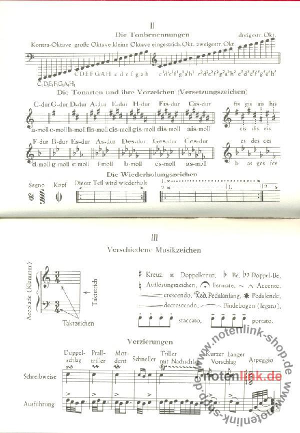 Hirsche, Ernst - Musikwörterbuch