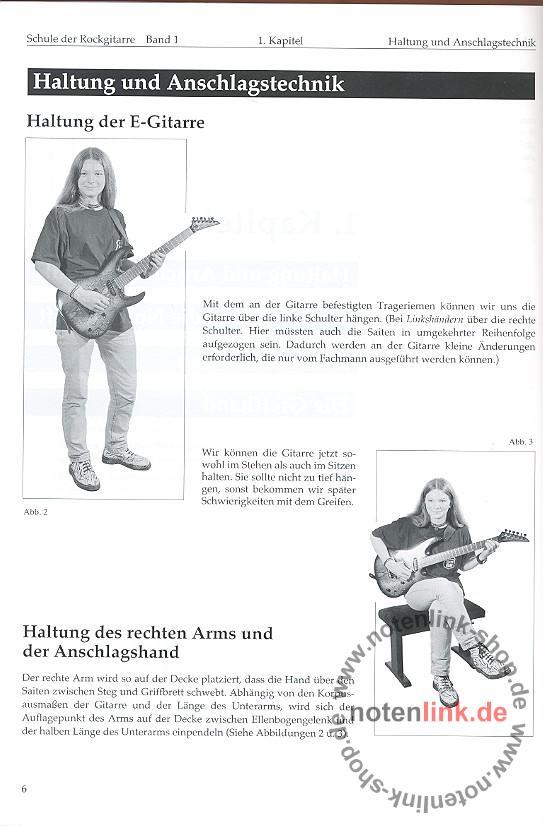 Scheinhütte, Andreas - Schule der Rockgitarre Band 1 (+CD)