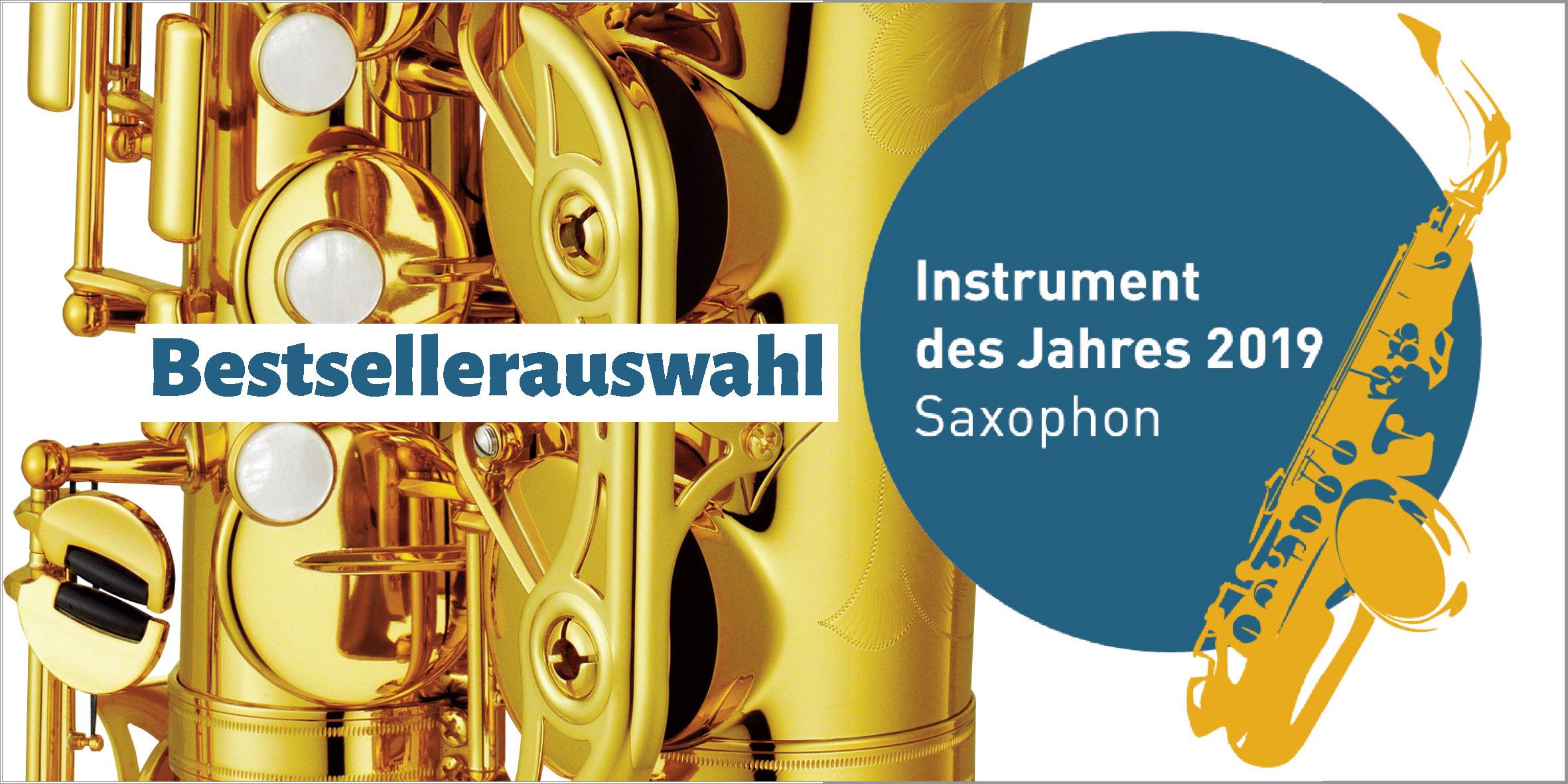 Saxophon - Musikinstrument des Jahres 2019