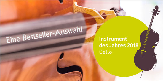 Cello - Musikinstrument des Jahres 2018