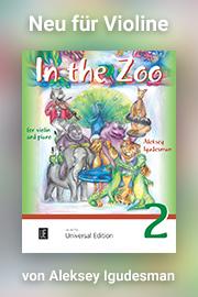 Igudesman - In the zoo II - Uinversal Edition