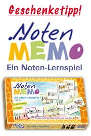 Notenmemo - Notenlernspiel - Gerig Musikverlag