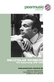 Mieczyslaw Weinberg - Peermusic Classical